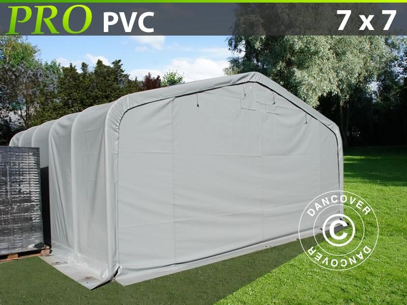 Capannone tenda-PRO-7X7X38-M-PVC