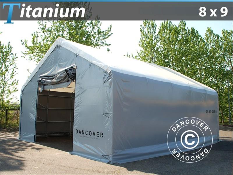 Capannone tenda di deposito Titanium 8 x 9 x 3 x 5 m