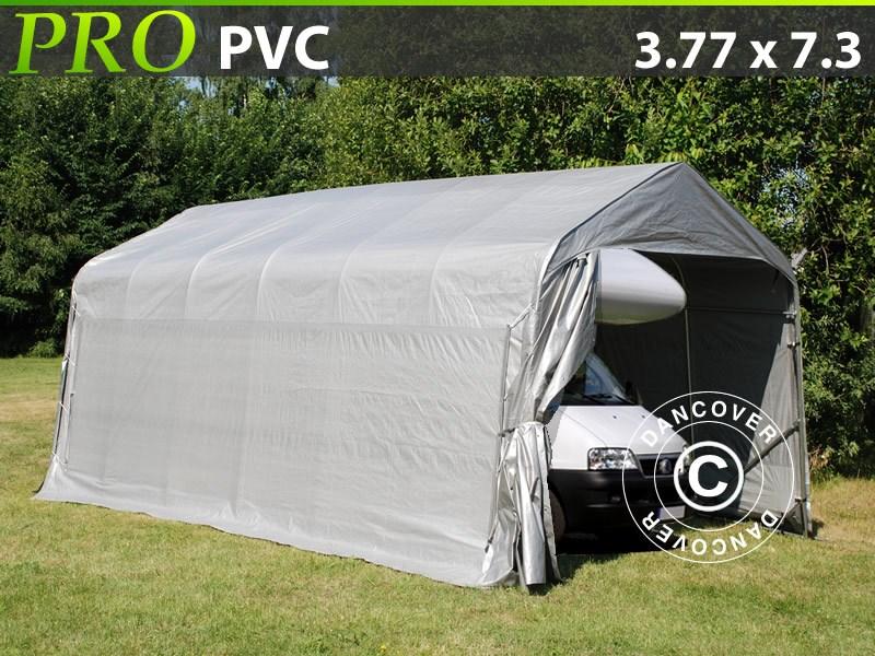 Tenda garage-PRO-3.77X7.3X3.24X2.74-M-PVC