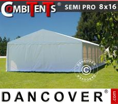 Gazebo Per Feste SEMI PRO Plus CombiTents®; 8x16 (2,6)m 6 in1