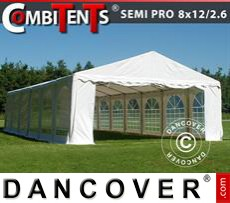 Gazebo Per Feste SEMI PRO Plus CombiTents® 8x12 (2,6)m 4 in1