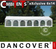 Gazebo Per Feste Exclusive CombiTents® 6x14m, 5 in 1